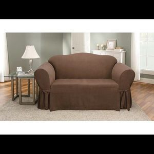 NWT✨ Sure fit| One Piece Loveseat Slipcover